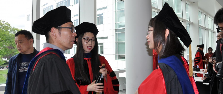 Biophysics graduates at MBG Ceremony 2019